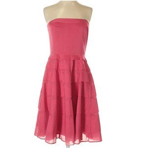 The Limited Event Raspberry Tiered Strapless K